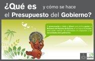Presupuesto Ciudadano 2013 - Gobierno del Estado de Colima