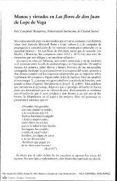 Actas XII. AIH. Manos y virtudes en «Las flores de don Juan» de ...