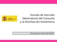 Observatorio del Consumo y la Distribución Alimentaria ...