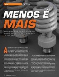 Capa: Eficiência energética - Apas