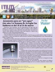 Utility Talk Primavera 2013