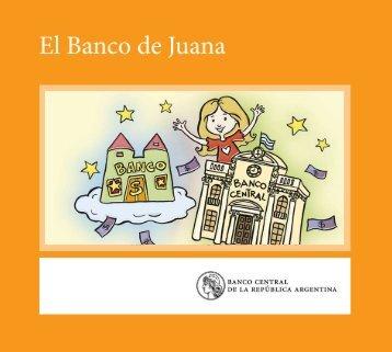 Libro de cuento: El banco de Juana - Banco Central Educa - Banco ...