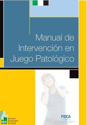 Manual de Intervención en Juego Patológico - Drogas Extremadura
