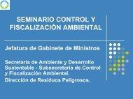 Inspecciones Ambientales / Efluentes Líquidos. Efluentes Gaseosos ...