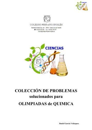 Coleccion Problemas Olimpiada Quimica CANARIAS - hiciencias