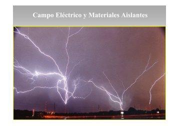 Campo Eléctrico y Materiales Aislantes