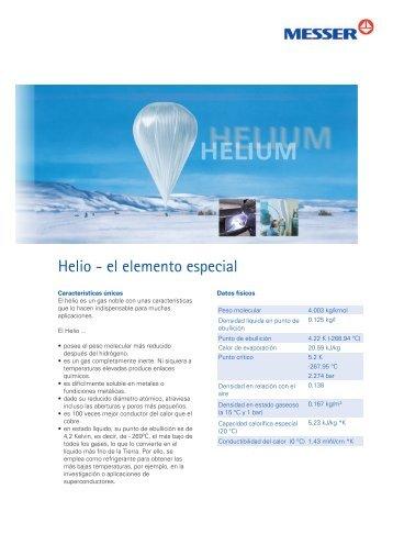 Helio - el elemento especial - Messer