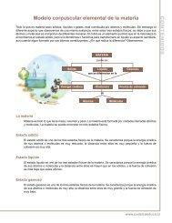 Modelo corpuscular elemental de la materia - Codelco Educa