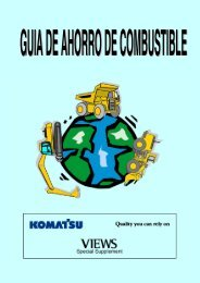 guia de ahorro de combustible - Komatsu