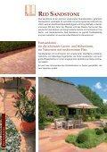 red sandstone - Sandstein * Hartsandstein für Haus und Garten ... - Seite 4