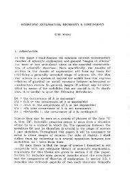 SCIENTIFIC EXPLANATION, NECESSITY & CONTINGENCY Erik ...