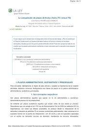 La computación de plazos de fecha a fecha - Gobierno de La Rioja
