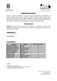 Lista Provisional de Admitidos y Excluidos - Ayuntamiento de ...