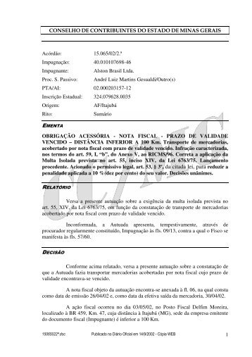 Microsoft Word - 15065022\252.doc - Secretaria de Estado de ...
