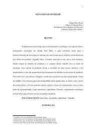 PENSAMENTO SOCIOLÓGICO DE KARL MARX - Faculdade Atenas