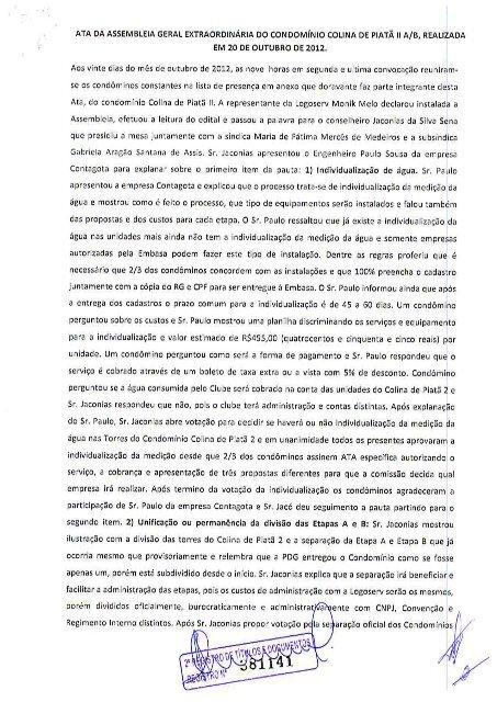 ATA| DA ASSEMBLEIA GERAL EXTRAORDINÁRIA DO ... - Logoserv