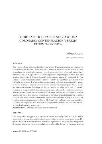 Anales literatura 23 - RUA