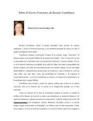Sobre El Eterno Femenino, de Rosario Castellanos