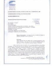 Recurso Administrativo - Tirol Construtora de Obras Ltda - DNIT