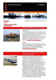 28 oktober - Haven Amsterdam