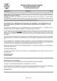 Amtliches Bekanntmachungsblatt Nr. 14 vom 08. April 2011