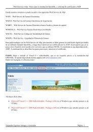 Instrucciones para generar certificado digital Afip - Alejandro ...