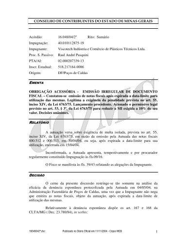 Microsoft Word - 16048042\252.doc - Secretaria de Estado de ...