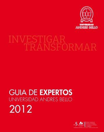 Descargar Guía de Expertos en formato PDF - Noticias Universidad ...