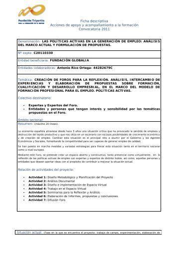 Ficha descriptiva Acciones de apoyo y acompañamiento a la ...