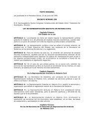 Ley de Representación Gratuita en Materia Civil