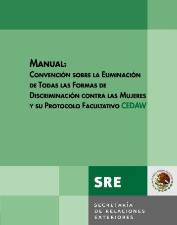 Manual de la CEDAW - Minerva - Observatorio de Género del ...