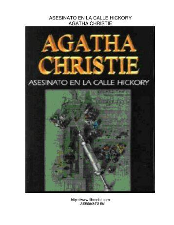 asesinato en la calle hickory agatha christie - LaFamilia.info