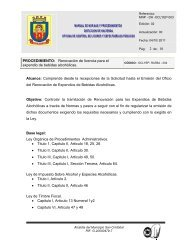 Renovación de licencia para el expendio de bebidas alcohólicas ...