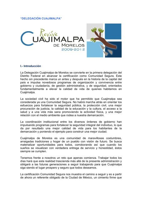 Delegación Cuajimalpa