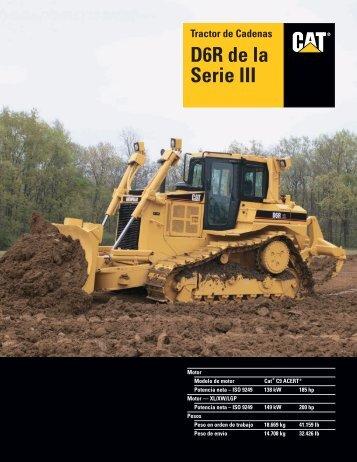 Specalog for Tractor de Cadenas D6R de la Serie III ... - Kelly Tractor