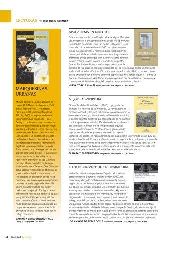Revista Calle20, septiembre - El blog de UDL libros
