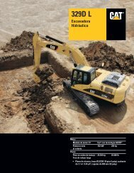 ASHQ5988, Excavadora Hidráulica 329D L Specalog - Ferreyros
