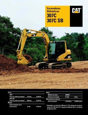 Excavadoras Hidráulicas 307C 307C SB, ASHQ5408 - Kelly Tractor