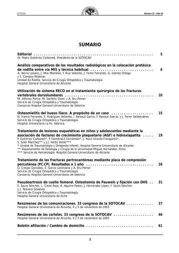 Sotocav nº 10 Año 2006
