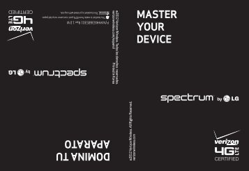 MASTER YOUR DEVICE DOMINA TU APARATO