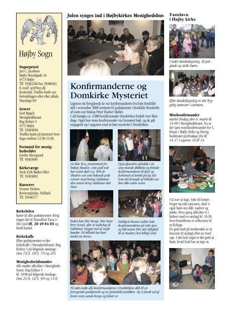 Kirkeblad Vinter-forår 2009 - lumsås kirke