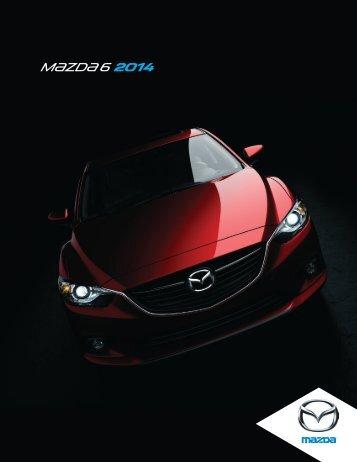 Brochure MAZDA6 2014