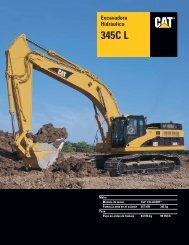 Specalog for Excavadora Hidráulica 345C L ... - Kelly Tractor