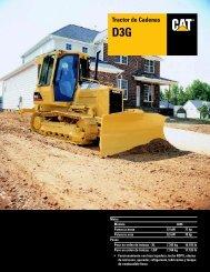 Tractor de Cadenas D3G, ASHQ5459 - Kelly Tractor