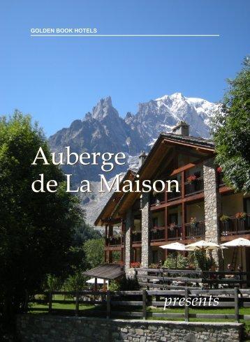 Auberge de La Maison Auberge de La Maison - Golden Book Hotels