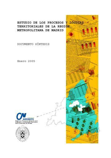 Estudio de los procesos y lógicas territoriales de - Ayuntamiento de ...