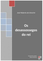 Os desassossegos do rei - Quintal dos Poetas