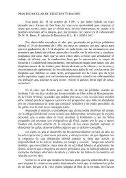 PROCESO OCULAR DE REESTRUCTURACION