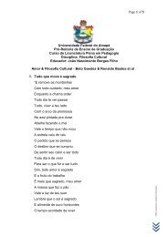 Poética & Filosofia Cultural – Beto Guedes & Ronaldo ... - Unifap