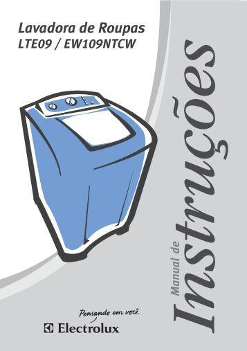 Manual do Usuário - Electrolux